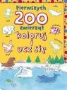 Pierwszych 200 zwierząt. Koloruj i ucz się