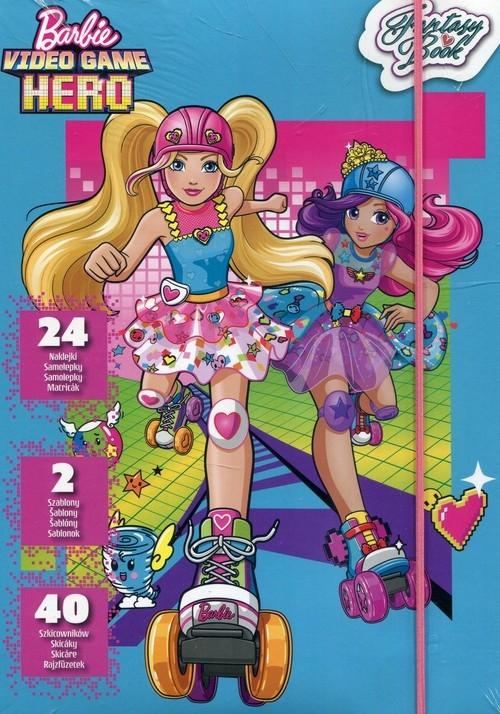 Szkicownik Barbie w świecie gier