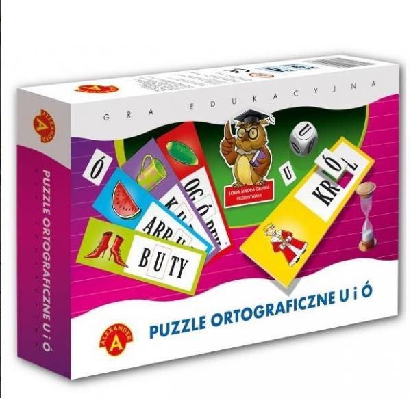 Puzzle ortograficzne u i ó 30  (0464)