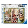 Ravensburger, Puzzle 1000: Wakacje Miki i Mini (165056)