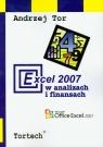 Excel 2007 w analizach i finansach
