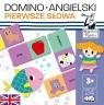 Kapitan Nauka: Domino Angielski - Pierwsze słowaWiek: 3+