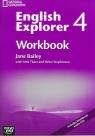 English Explorer 4 Workbook with CD