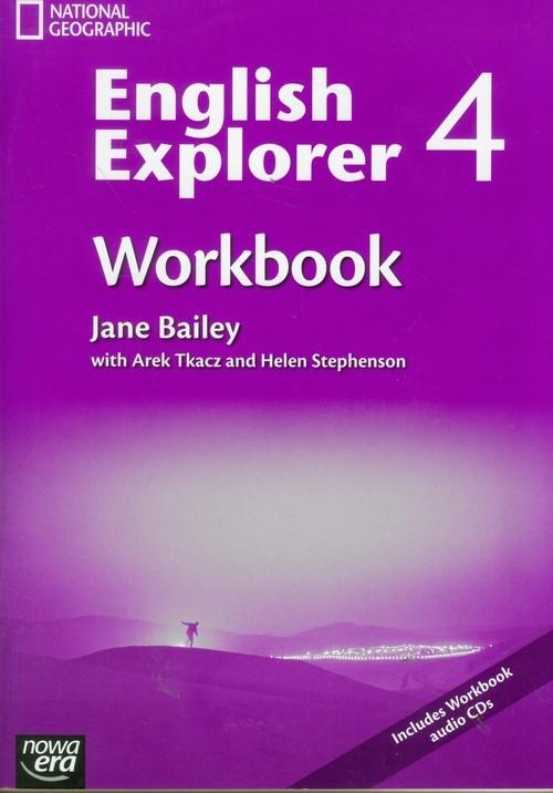 English Explorer 4 Workbook with CD Bailey Jane, Tkacz Arek, Stephenson Helen