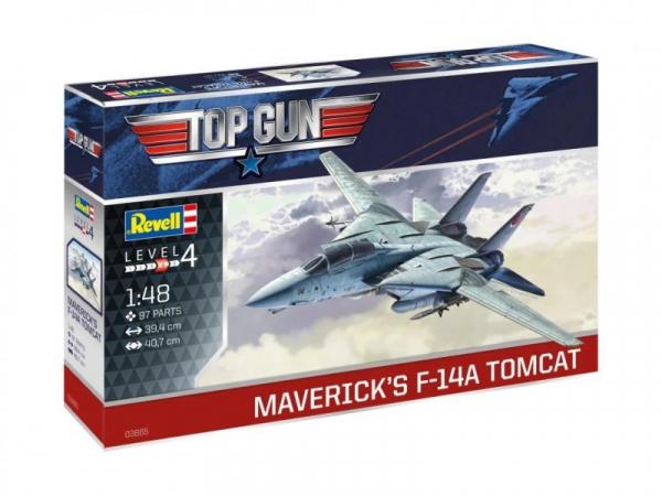 Model do sklejania F-14A Tomcat Top Gun (03865)