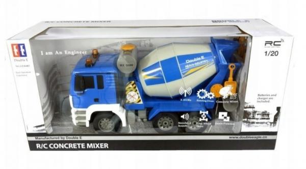 Pojazd MAN Betoniarka niebieska R/C Double Eagle (DO-E518)