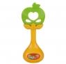 Grzechotka - gryzak jabłko (111650)Wiek: 0+