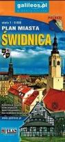Plan miasta - Świdnica, powiat Świdnicki 1:9 000 praca zbiorowa