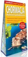 Chorwacja Wybrzeże południowe; laminowany map&guide XL (2w1: przewodnik i