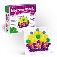 Magiczne mozaiki, 160 elementów (0665)