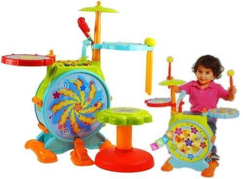 Interaktywna perkusja jazz drum dla malucha