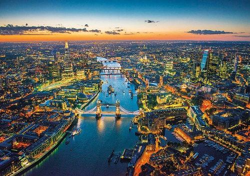 Puzzle Londyn z lotu ptaka 1500