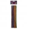 Druciki kreatywne, 40 szt. x 30cm - metalizowane, mix kolorów (KSDR-006)