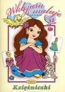 Księżniczki Wklejam i maluję
