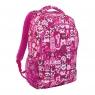 Plecak szkolny Milan 21L Hey Girl różowy (624601HYP)