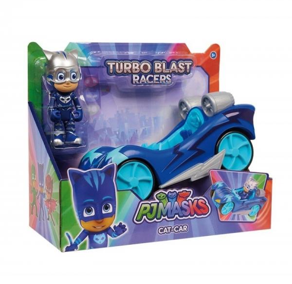 Pidżamersi Pojazd Turbo z figurką, Cat-Car (JP-24975-1)