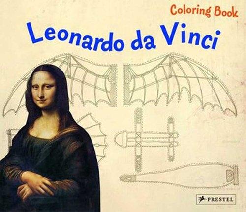 Coloring Book: Leonardo Da Vinci Sauer Inge