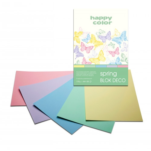Zeszyt papierów kolorowych A5, 170g, 20 kartek (3817 1520-110)