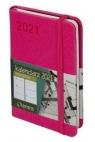 Kalendarz 2021 Awangarda, A7, jasno różowy, TDW