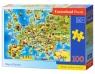 Puzzle 100: Mapa Europy (B-111060)