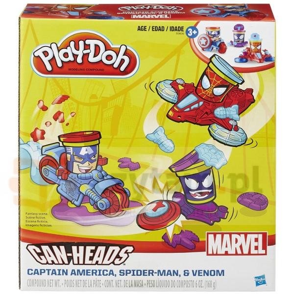 HASBRO PlayDoh Pojazdy superbohaterów (B0606)