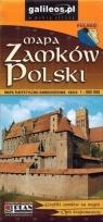 Mapa turystyczno-samoch. - Zamki Polski 1:900 000 praca zbiorowa