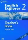 English Explorer 2 Teacher's Book with CD Gimnazjum Hill David A.