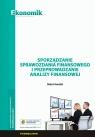 Sporządzanie sprawozdania finansowego i przeprowadzanie analizy finansowej