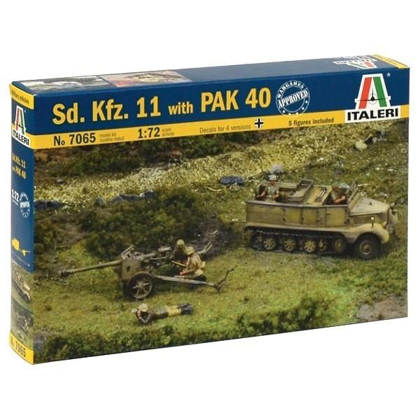 Sd.Kfz.11 with Pak 40