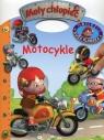 Mały chłopiec Motocykle Naklejki Duża plansza