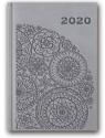 Kalendarz 2020 Tygod. B6 Vivella Szary 41TE-08