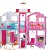Barbie miejski domek z wyposażeniem