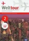 Welttour 2 język niemiecki podręcznik z zeszytem ćwiczeń z filmami ZDF