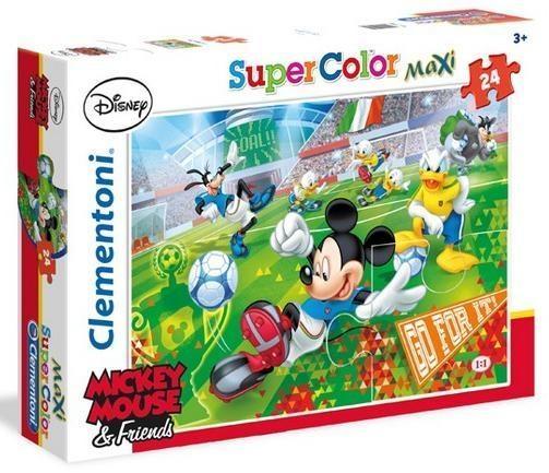 Puzzle 24 el. maxi Mickey sport (24465)
