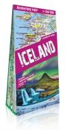 Islandia (Iceland) laminowana mapa samochodowo - turystyczna