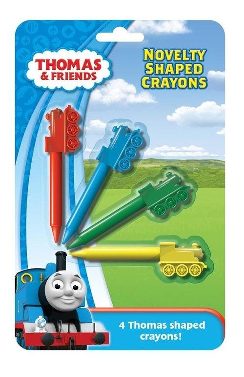 Kredki-lokomotywy. Tomek i Przyjaciele