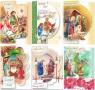 Karnet B6 Boże Nar. Wycinany Religia (10sz) MIX