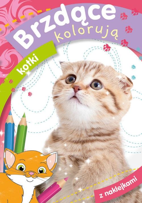 Brzdące kolorują kotki Zofia Zabrzeska