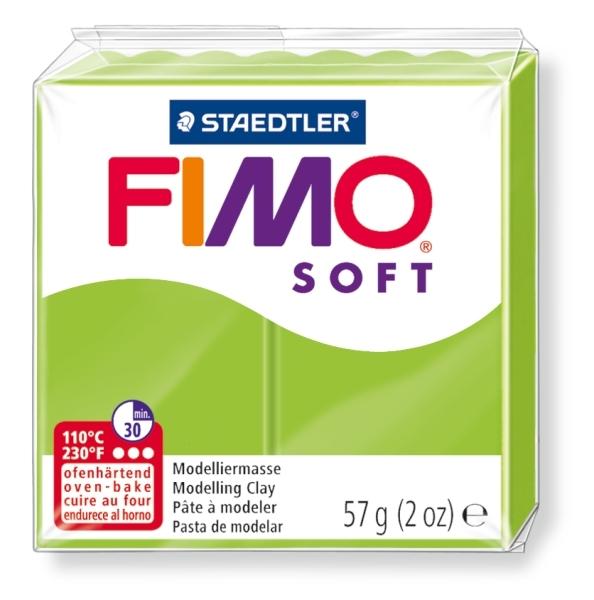 Masa termoutwardzalna Fimo Soft seledynowa (8020-50)
