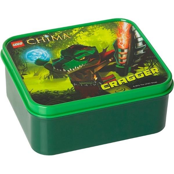 LEGO Pojemnik na lunch Chima zielony