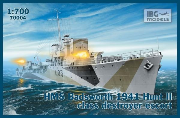 IBG HMS Badsworth 1941 Hunt II (70004)