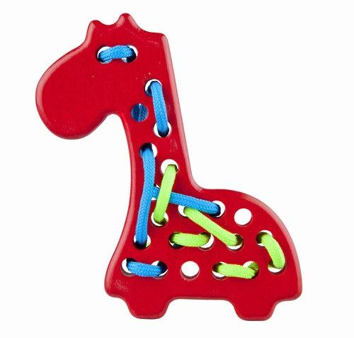 Przeszywanka Żyrafa czerwona