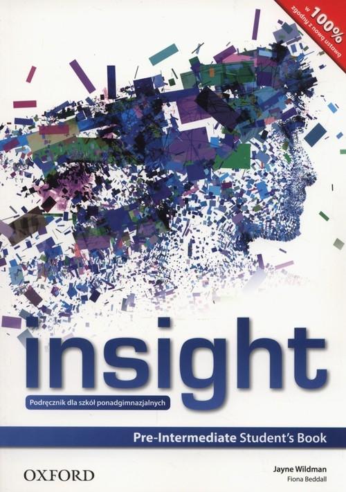 Insight Pre-Intermediate Student's Book Wildman Jayne, Beddall Fiona
