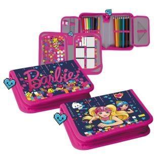 Piórnik z wyposażeniem 2zam Barbie w świecie gier