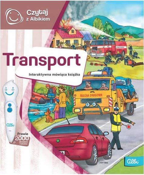 Czytaj z Albikiem: Transport - interaktywna mówiąca książka (49612) praca zbiorowa
