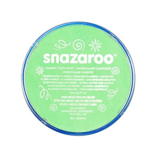 Farba do twarzy i ciała Snazaroo 18ml - zielona jasna (1118400)