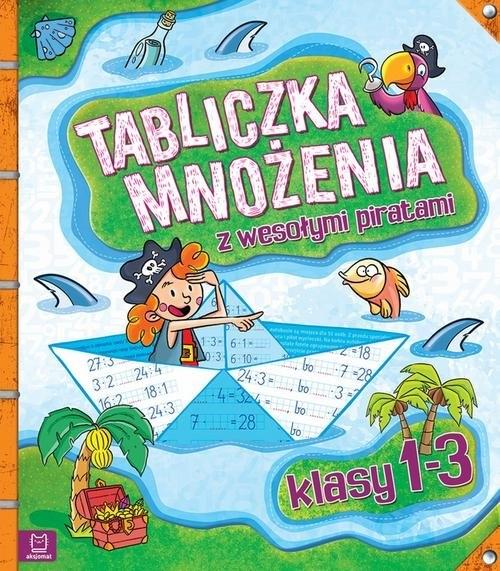 Tabliczka mnożenia z wesołymi piratami Klasy 1-3