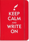 Notatnik Peter Pauper Mini Keep Calm and Write On Journal