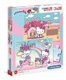 Puzzle SuperColor 2x20: Hello Kitty (24765)