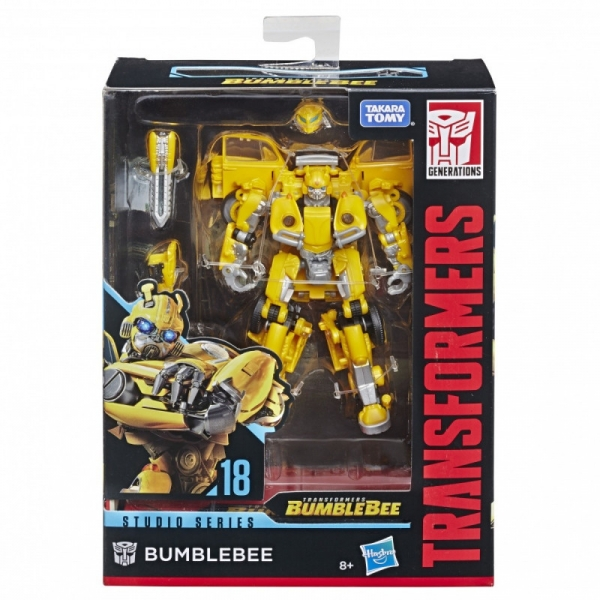 Figurka Transformers Cyb Battle Call Troo per Class Bumblebee (E8227/E8373)